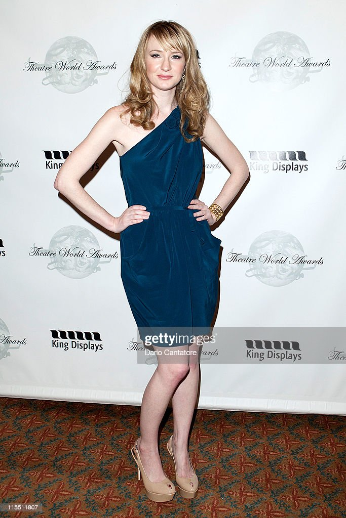 Halley Feiffer attends the 67th annual Theatre World Awards Ceremony at the August Wilson Theatre on June 7, 2011 in New York City.