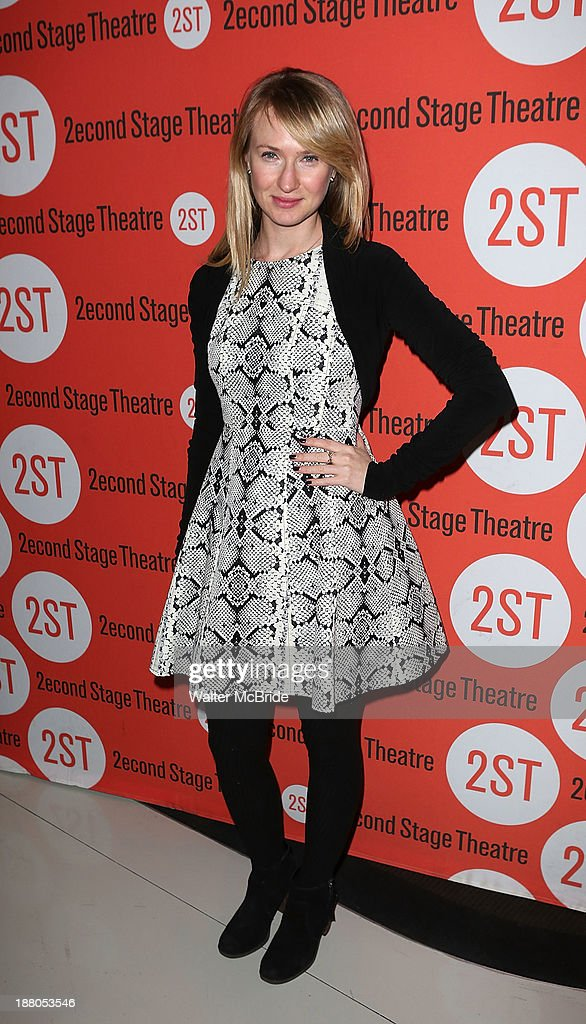 <a gi-track='captionPersonalityLinkClicked' href=/galleries/search?phrase=Halley+Feiffer&family=editorial&specificpeople=2083909 ng-click='$event.stopPropagation()'>Halley Feiffer</a> attends the after party for the opening night production of 'Little Miss Sunshine' at Yotel on November 14, 2013 in New York City.