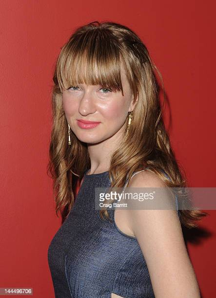 Halley Feiffer attends the 'Hysteria' New York Special Screening at Sunshine Landmark on May 14 2012 in New York City