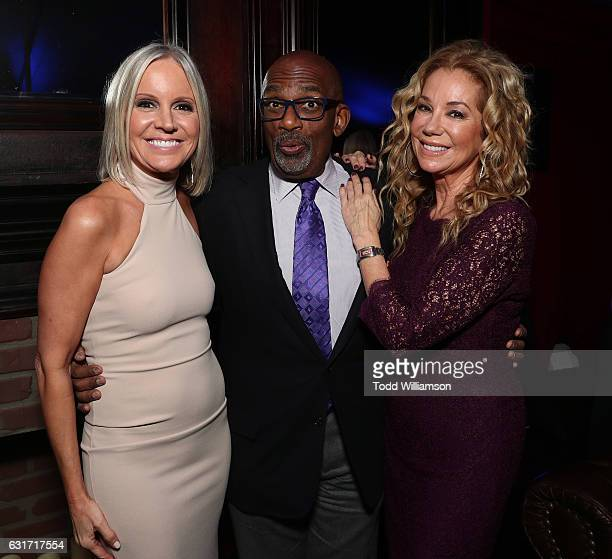 Hallmark EVP of Programming and Network Publicity Michelle Vicary Al Roker and Kathie Lee Gifford attend the Hallmark Channel And Hallmark Movies And...