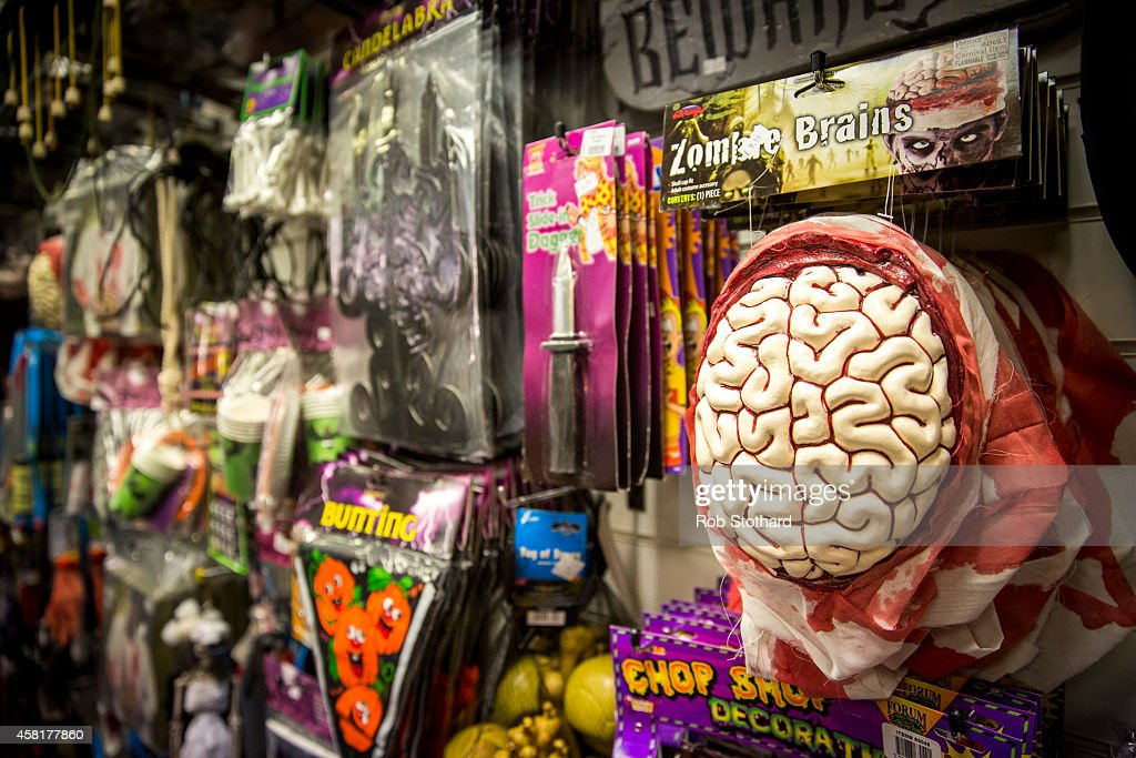 London Partygoers Prepare For Halloween At Angels Fancy Dress Shop ...