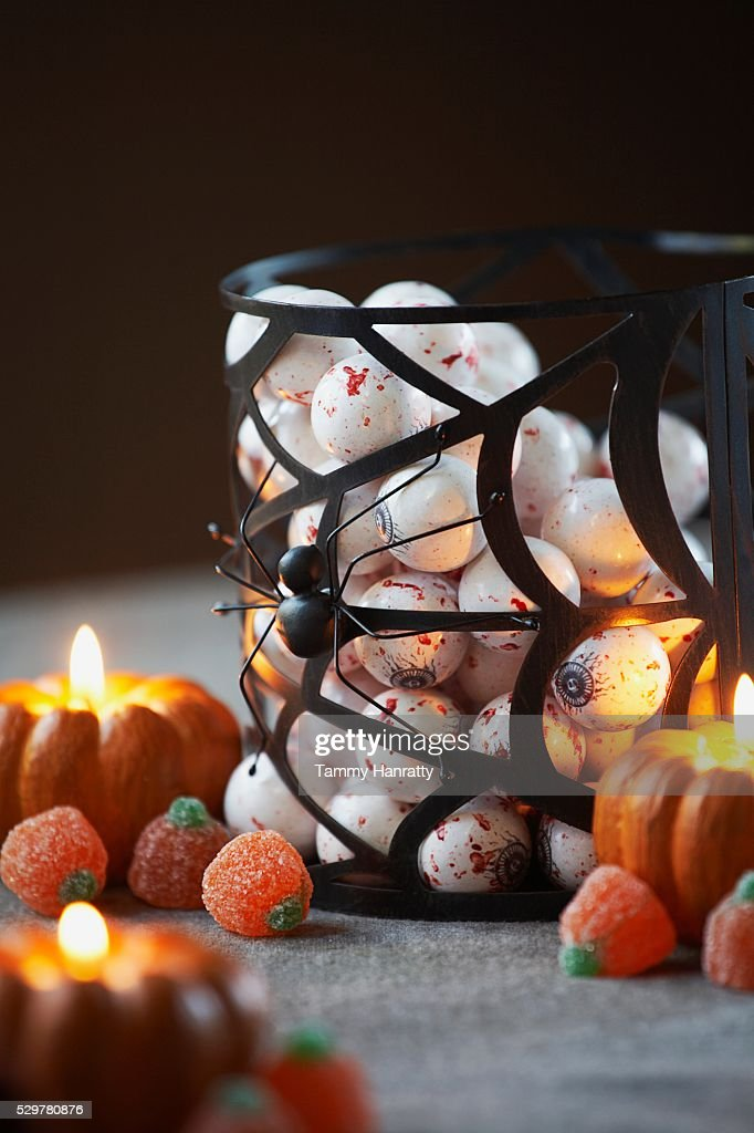 Halloween Gumballs : Stock Photo