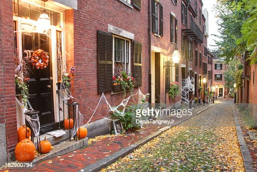 Halloween in Boston