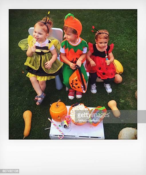 Halloween in our backyard