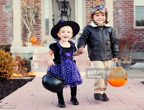 Dia das Bruxas crianças