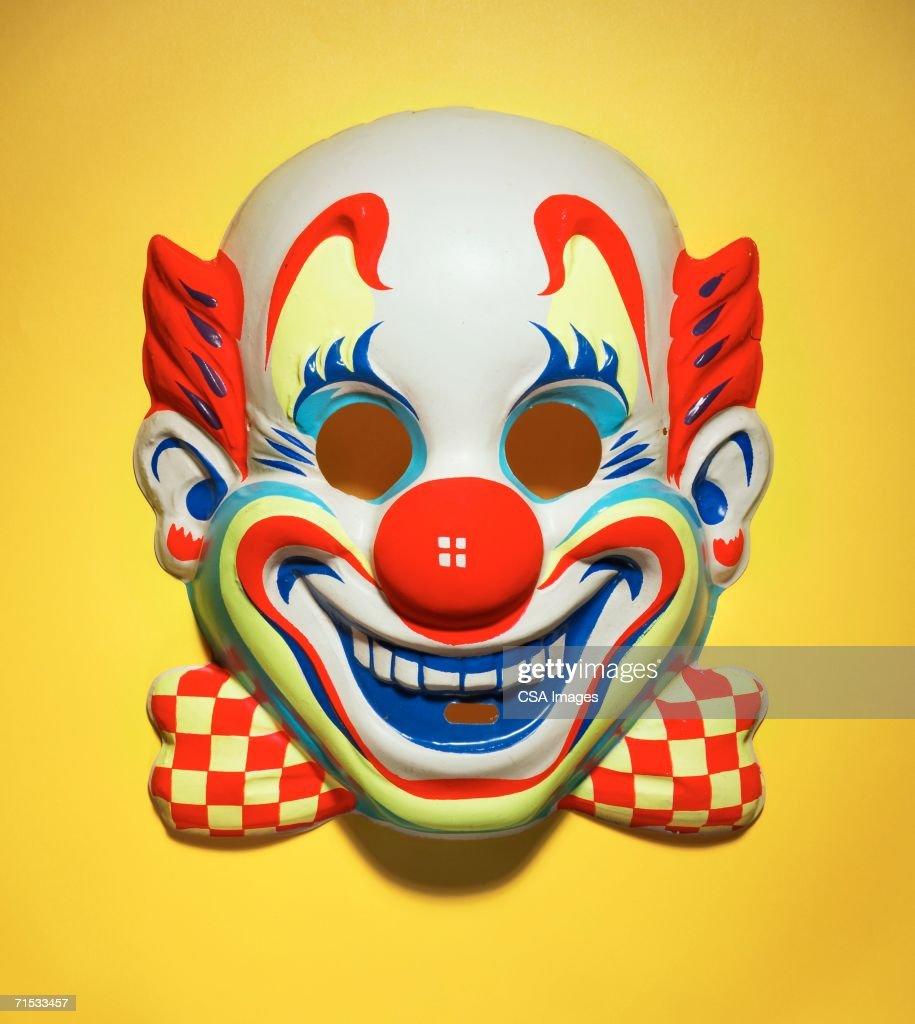 Halloween Mask of a Clown