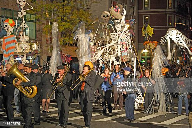 Halloween Parade on 5th Avenue.