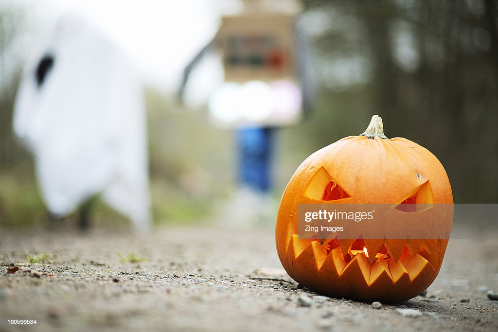 Halloween pumpkin : Stock Photo