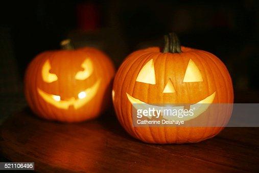 Halloween pumpkins : Stock-Foto