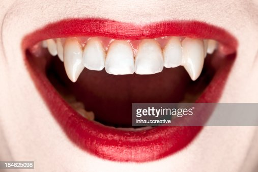 Halloween Vampire Teeth Stock Photo | Getty Images