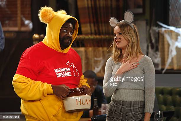 UNDATEABLE 'Halloween Walks Into A Bar' Episode 305B Pictured Ron Funches as Shelly Bridgit Mendler as Candace