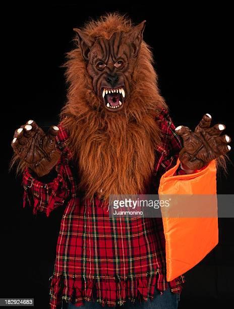 Halloween hombre lobo