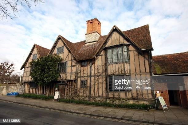 Hall's Croft in StratforduponAvon 17th Century home of William Shakespeare's eldest daughter Susanna and her husband Dr John Hall