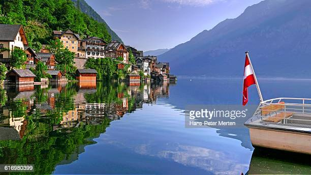 Hallstatt, Hallstätter See, Salzkammergut, Austria