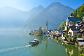 A view in Hallstatt, Austria