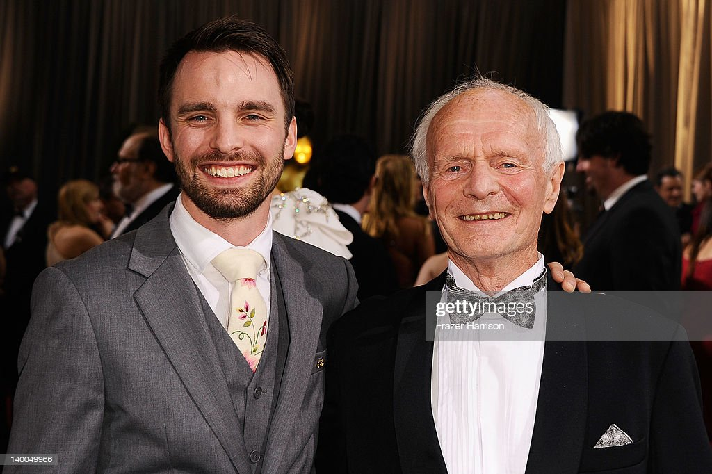 Hallvar Witzo and guest arrives at the 84th Annual Academy Awards held at the Hollywood & Highland Center on February 26, 2012 in Hollywood, California.