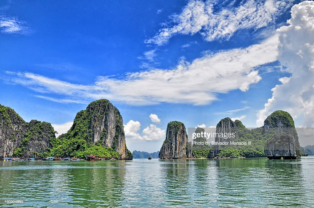 Halong Bay, Vietnam : Stock Photo
