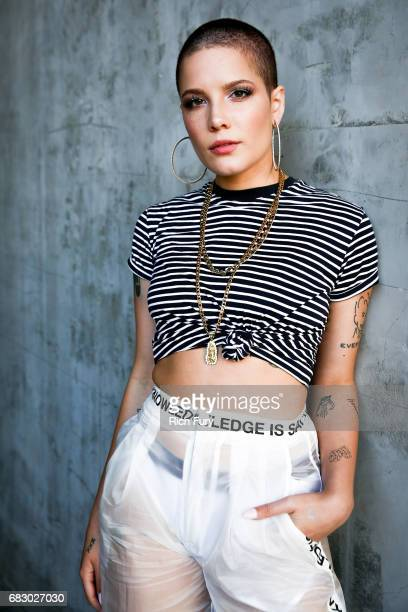 Halsey attends 1027 KIIS FM's 2017 Wango Tango at StubHub Center on May 13 2017 in Carson California