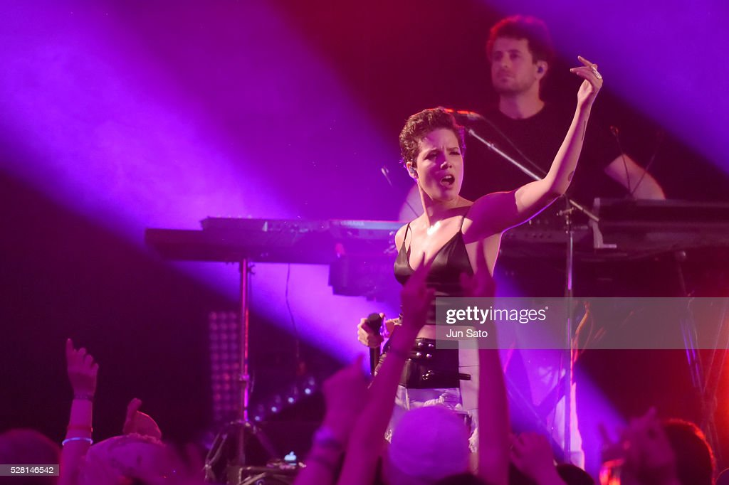 <a gi-track='captionPersonalityLinkClicked' href=/galleries/search?phrase=Halsey+-+Chanteuse&family=editorial&specificpeople=14181644 ng-click='$event.stopPropagation()'>Halsey</a> performed fans and Hilton HHonors members on Wednesday, May 4, 2016 in Tokyo, Japan as part of the global 2016 Hilton Concert Series. The concert, which took place at Hilton Tokyo Odaiba, is the third of seven being held at hotels with the Hilton portfolio, showcasing the benefits of being an HHonors member - and the first Asia Pacific performance for the Series. For more information, visit HHonors.com.