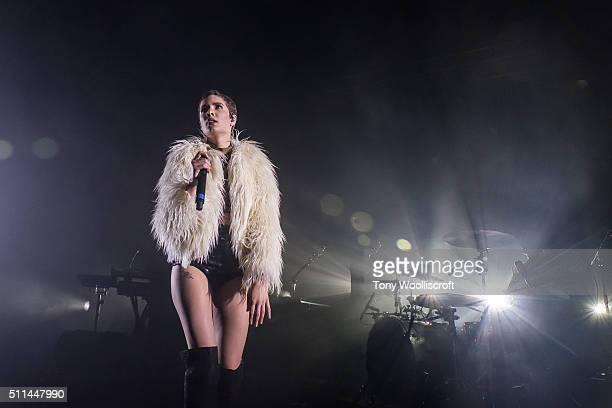 Halsey performs at O2 Academy Birmingham on February 20 2016 in Birmingham England