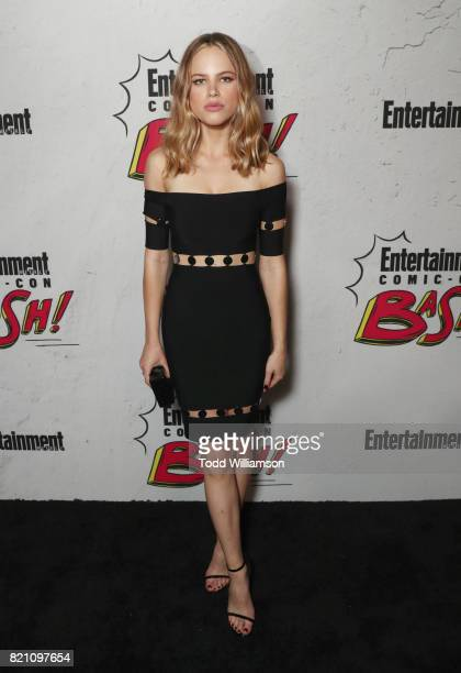 Halston Sage at Entertainment Weekly's annual ComicCon party in celebration of ComicCon 2017 at Float at Hard Rock Hotel San Diego on July 22 2017 in...