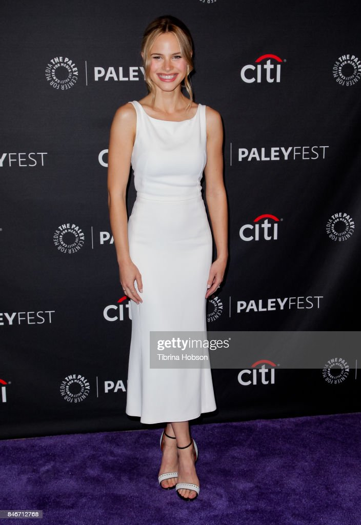 Halston Sage attends The Paley Center for Media's 11th annual PaleyFest Fall TV previews for FOX at The Paley Center for Media on September 13, 2017 in Beverly Hills, California.