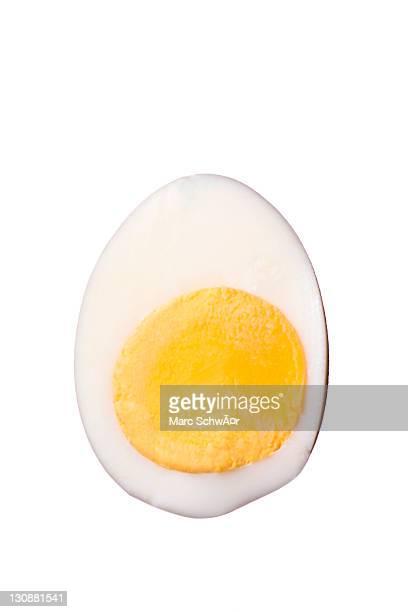 Halved egg