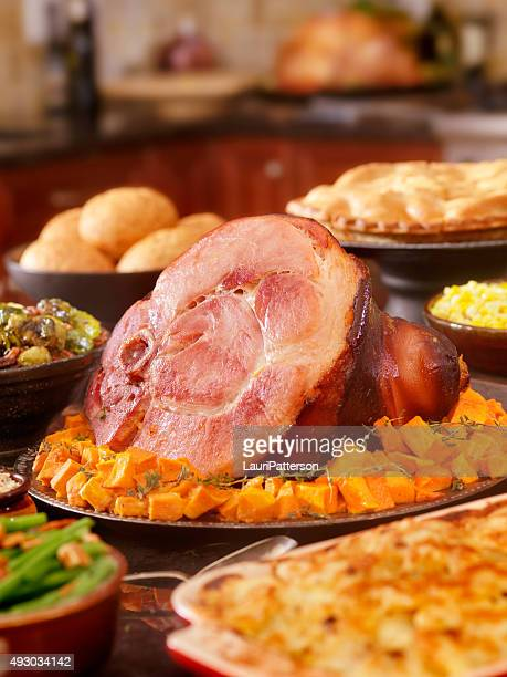 Ham Dinner with All the Fixings