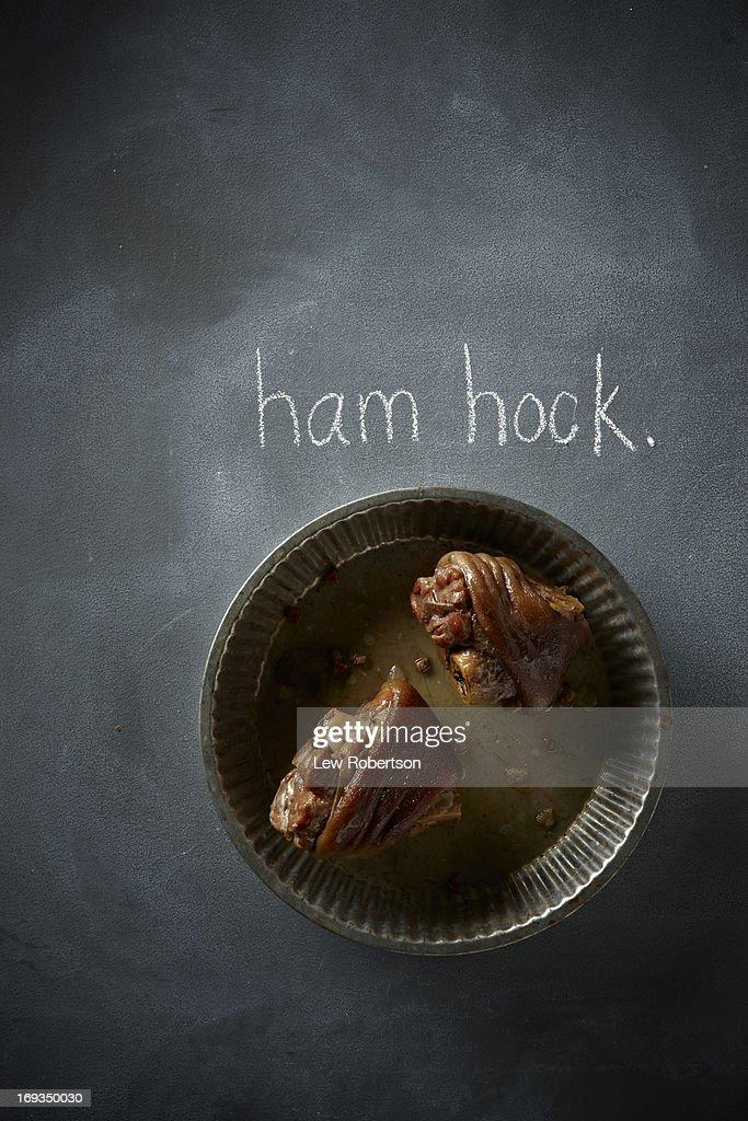 Ham hocks : Stock Photo