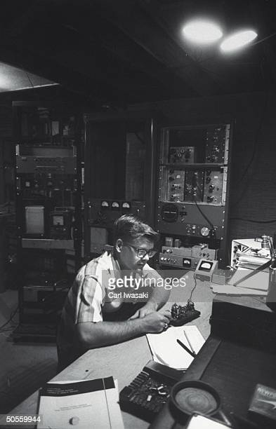Image result for shortwave radio operator getty images