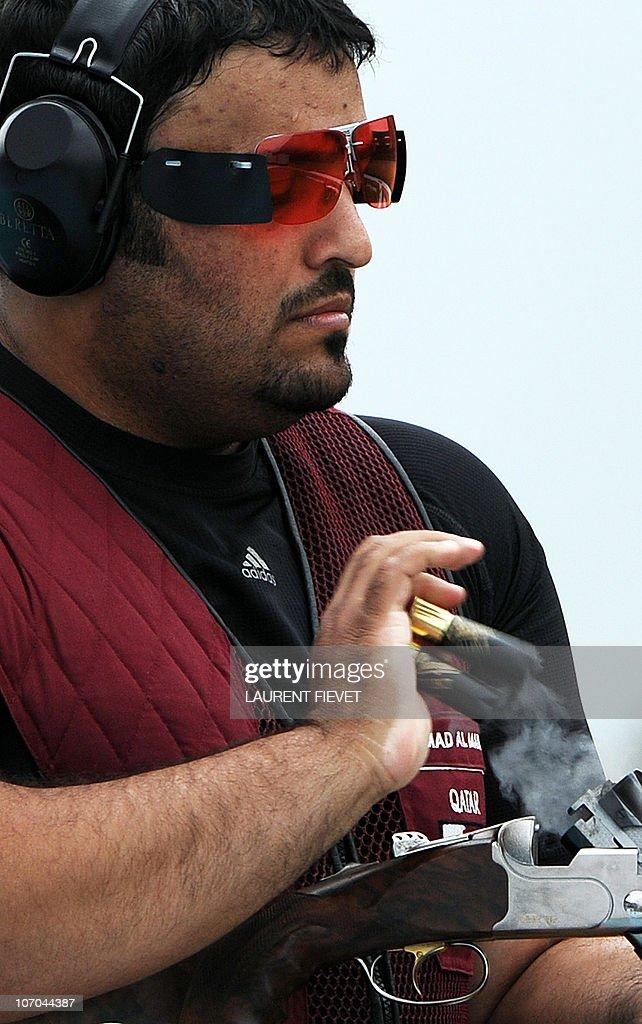 <b>Hamad Ali</b> al Marri of Qatar discharges his spent cartridges in the men&#39;s ... - hamad-ali-al-marri-of-qatar-discharges-his-spent-cartridges-in-the-picture-id107044387