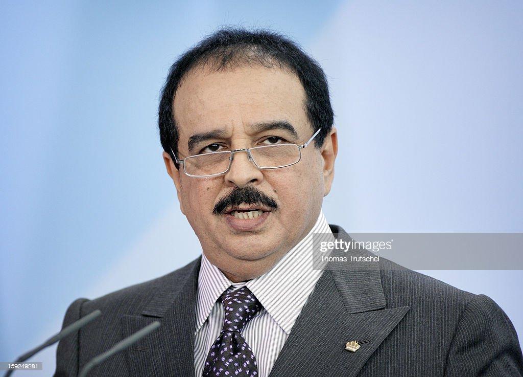 Hamad bin Isa Al Khalifa, King of Bahrain, October 28, 2008 in Berlin, Germany.