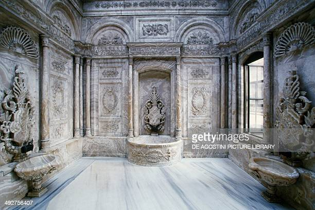 Hamam in the Throne Room Dolmabahce Palace 18431856 Istanbul Turkey