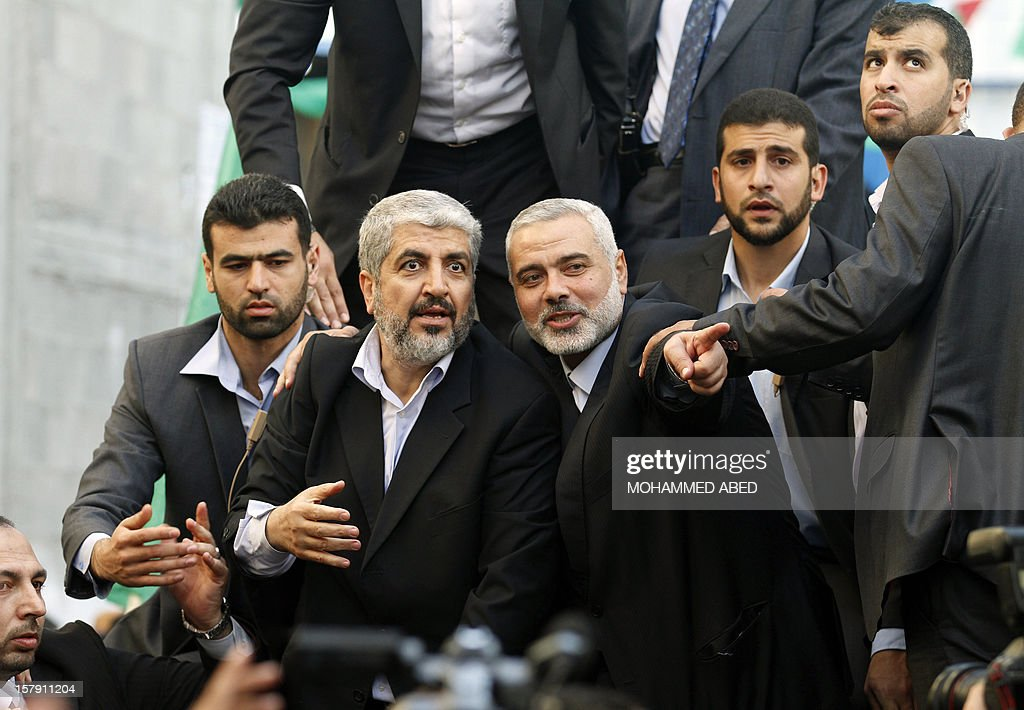 Hamas Leader makes First Visit To Gaza