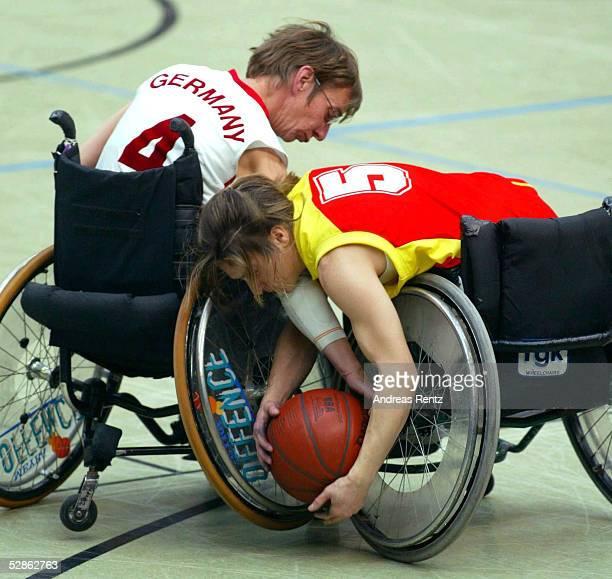 EM 2003 Hamburg Deutschland Spanien Verena KLEIN/GER/Genma REQUEJO/ESP