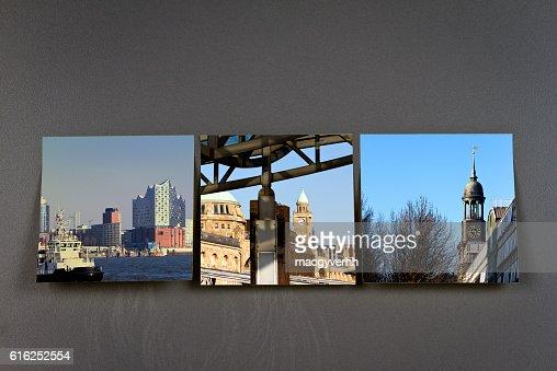 Hamburg germany city impressions : Stock Photo