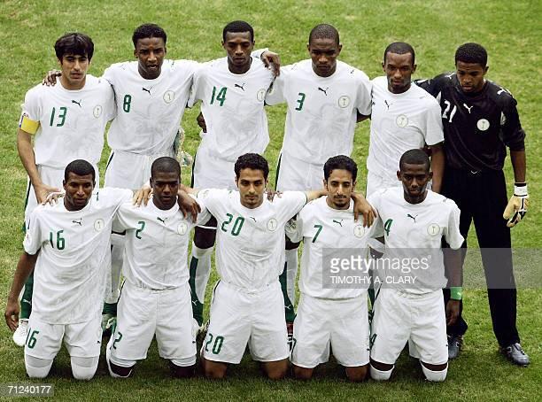 Saudi midfielder Khaled Aziz defender Ahmed Dokhi forward Yasser alQahtani midfielder Mohammed Ameen defender Hamad alMontashari goalkeeper Mohammad...