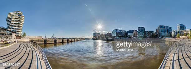 Hamburg Hafencity Panorama