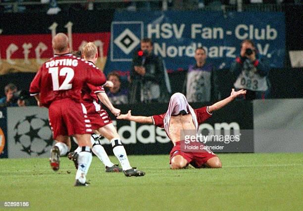 LEAGUE 00/01 Hamburg HAMBURGER SV JUVENTUS TURIN 44 Niko KOVAC/HSV nach dem 43