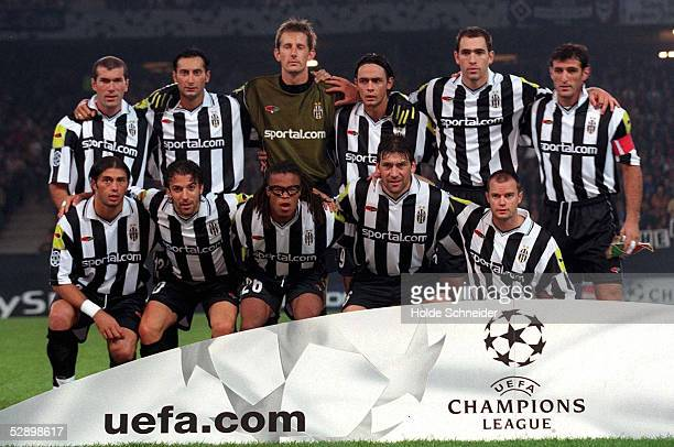 LEAGUE 00/01 Hamburg HAMBURGER SV JUVENTUS TURIN 44 TEAM JUVENTUS TURIN