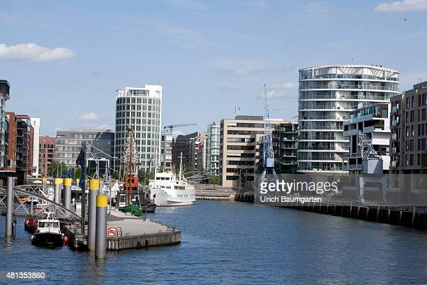 Hamburg harbor city exclusive living and work at the water