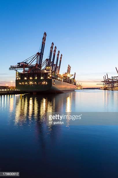Hamburg Harbour, Cargo Terminal