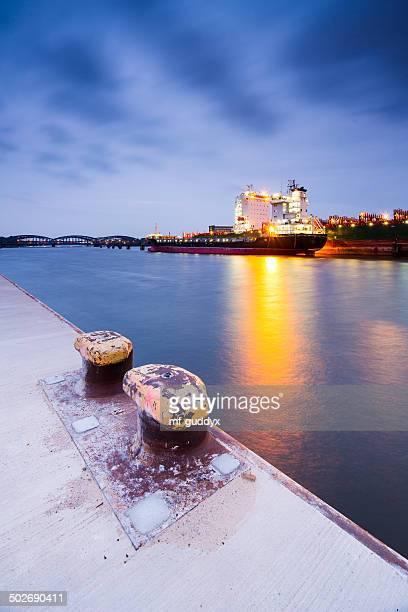 Hamburger Hafen, cargo Schiff