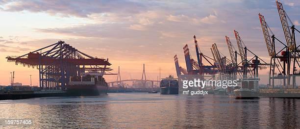 Hamburger Hafen Container-Terminal