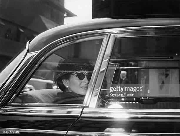 Hamburg Opera Singer Maria Callas In May 1959