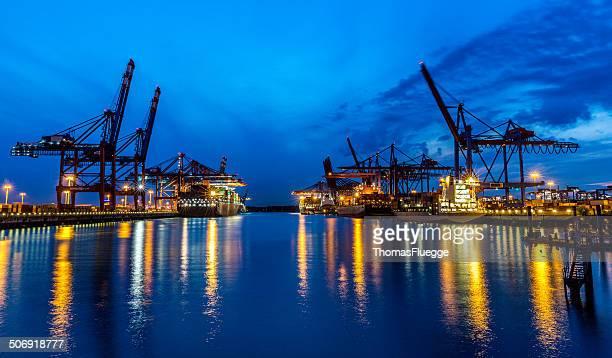 Hamburg Port, Cargo Terminal