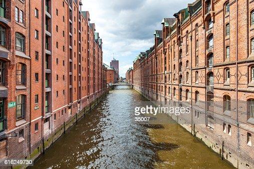 Hamburgo speicherstadt : Foto de stock