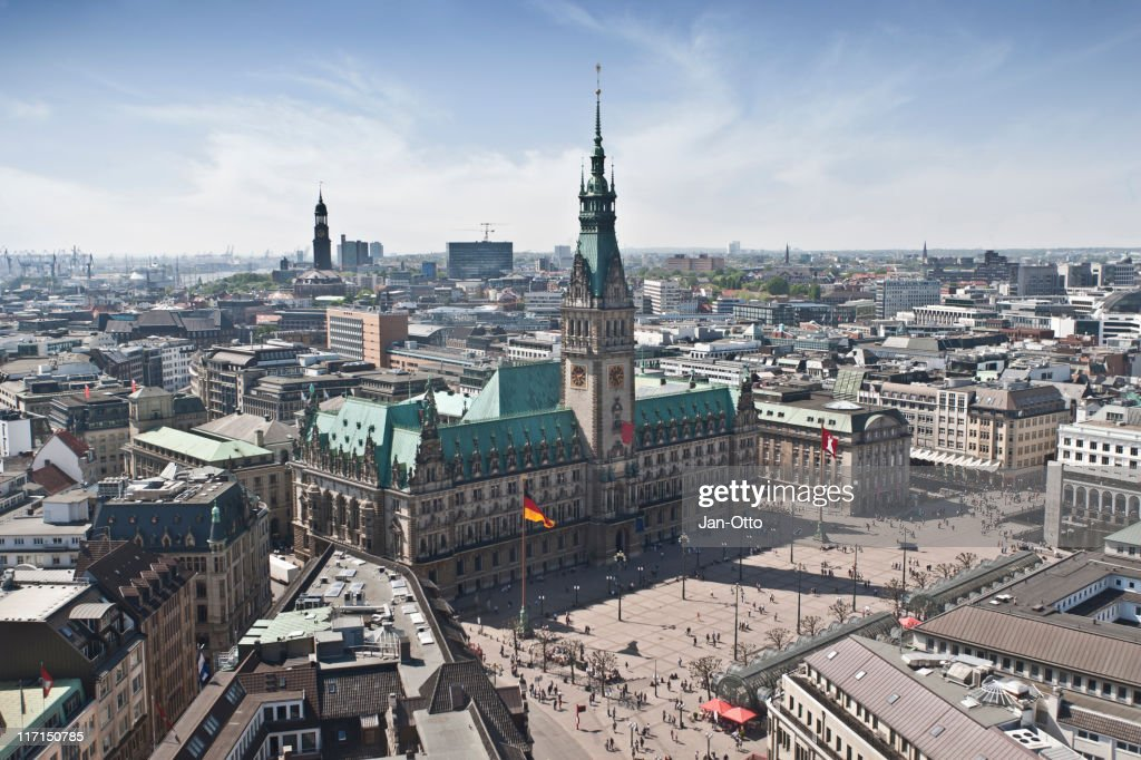 Hamburg Town Hall : Stock-Foto