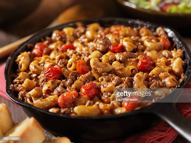 Hamburger y Macaroni Chili