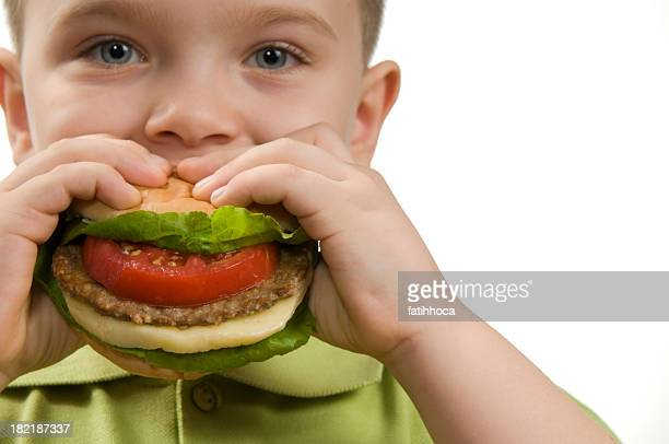 Hamburger and The Boy
